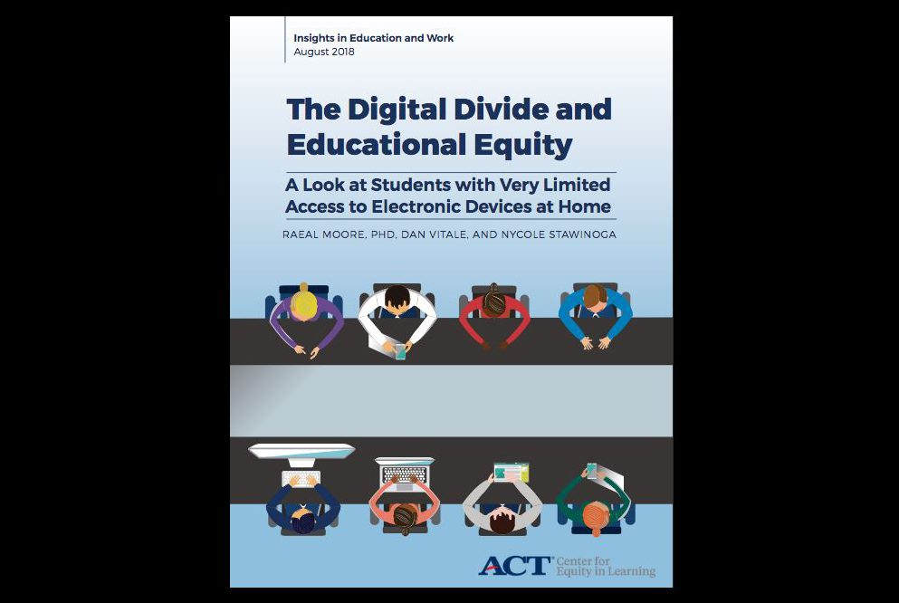 "How the ""digital divide"" can affect students' learning"