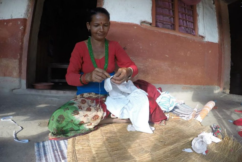 A potential patchwork and quilting skill building project could open up new opportunities for Dalit women in rural Nepal