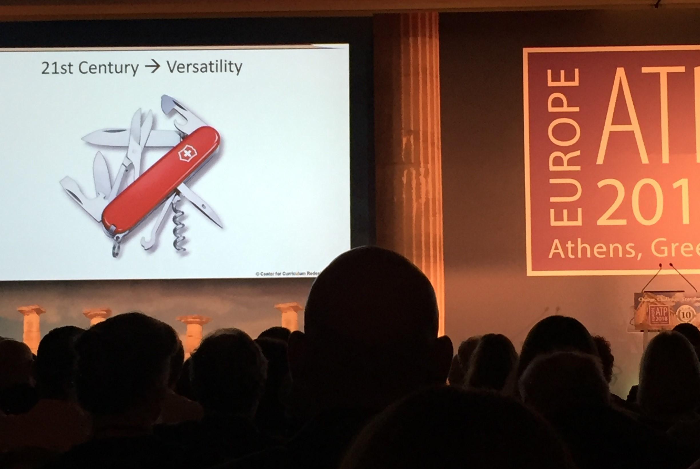 """Versatility"" is the key 21st century skill"