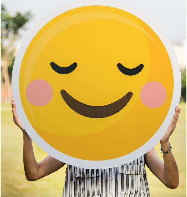 Emoji as a useful precursor of reading for pre-school children