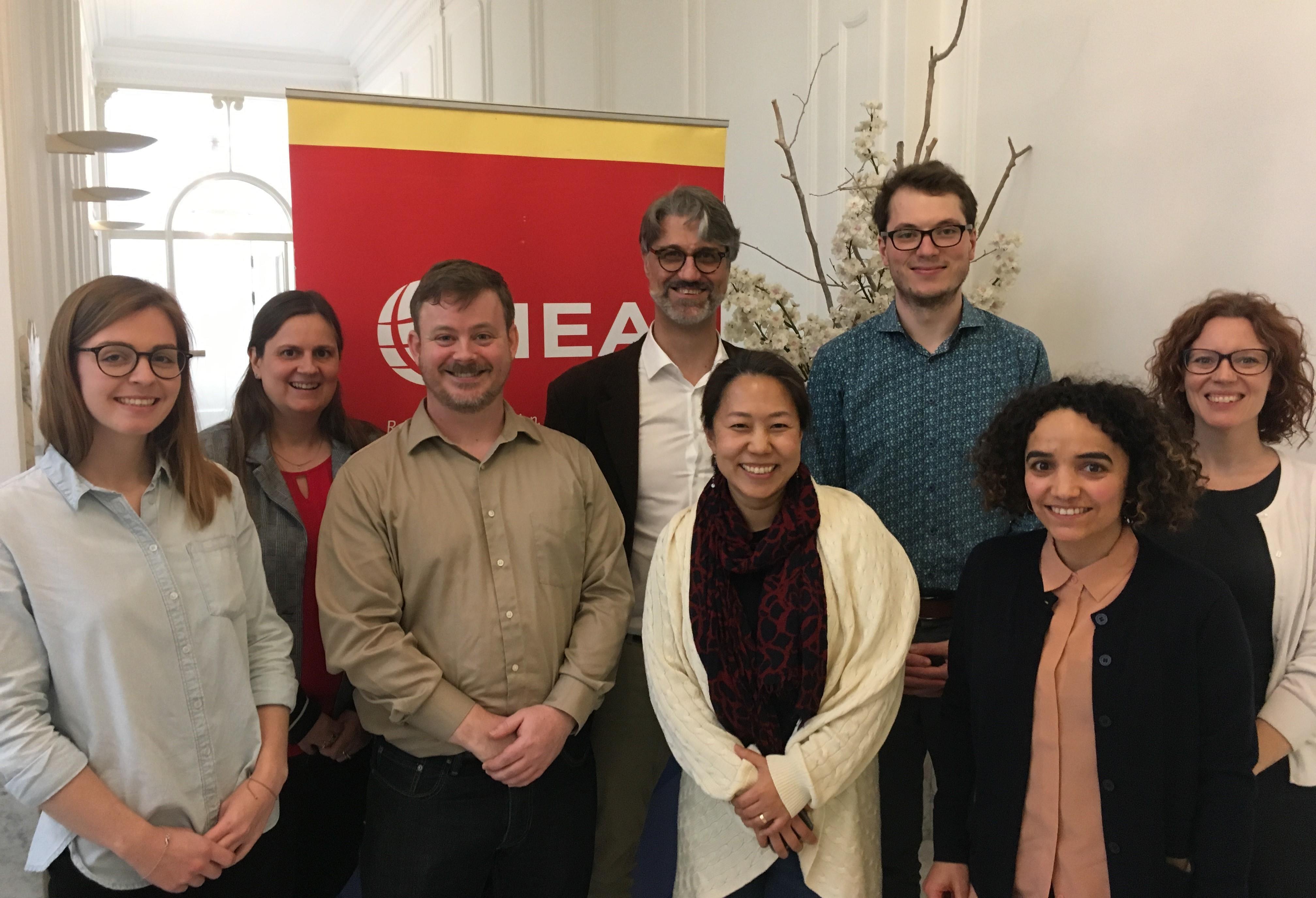 Translation and verification for international studies – IEA meeting
