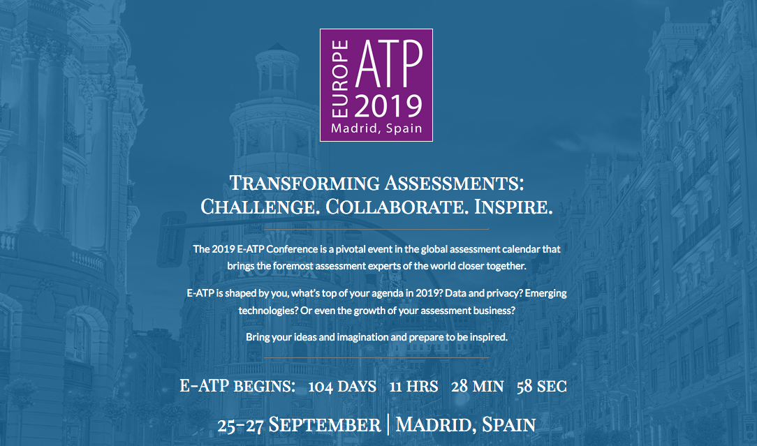 Why psychometricians and linguists need to join forces to improve the validity of multilingual assessments – E-ATP 2019