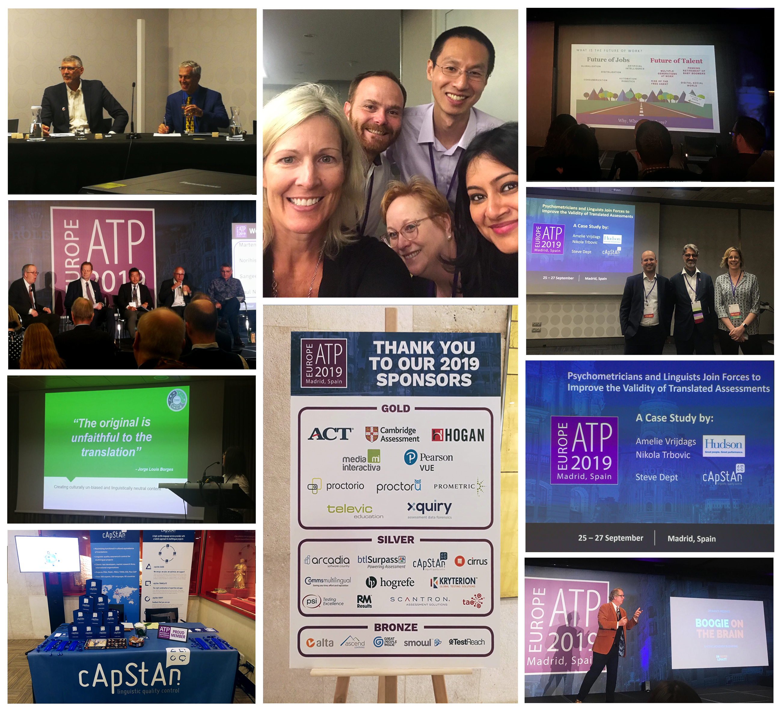 Highlights from the E-ATP Conference in Madrid