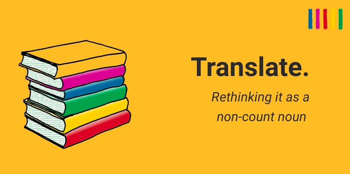 "Should we use ""translate"" as a noun? A case of ""nominalisation"" of a verb"
