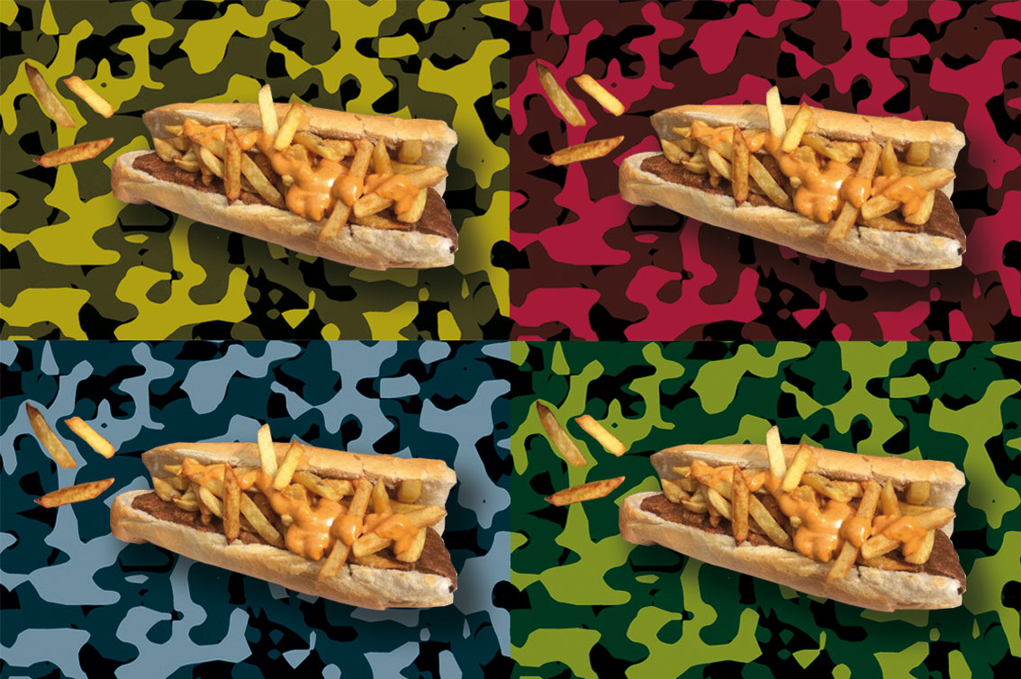 The odd semantics of Belgium's machine gun (mitraillette) sandwiches, aka américains