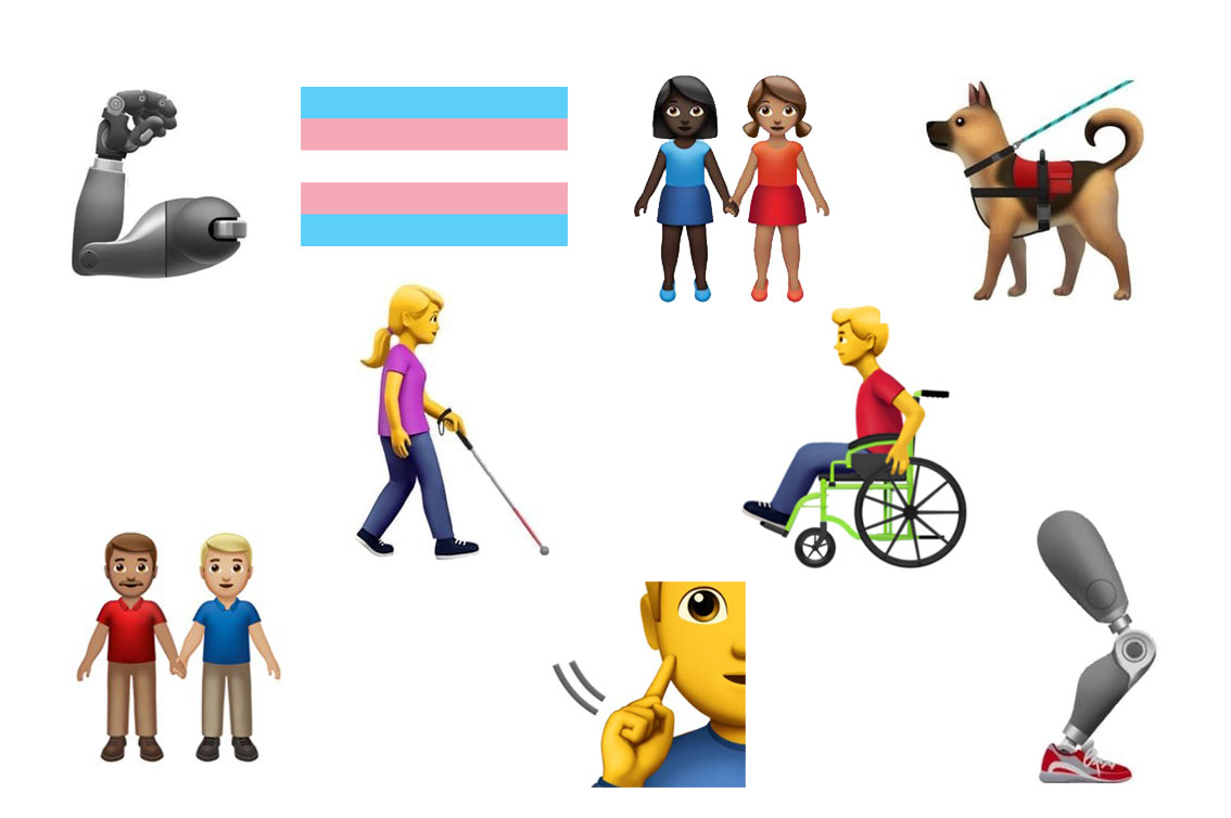How emoji have become an essential way for diverse communities to have visibility online