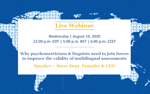 validity of multilingual assessments