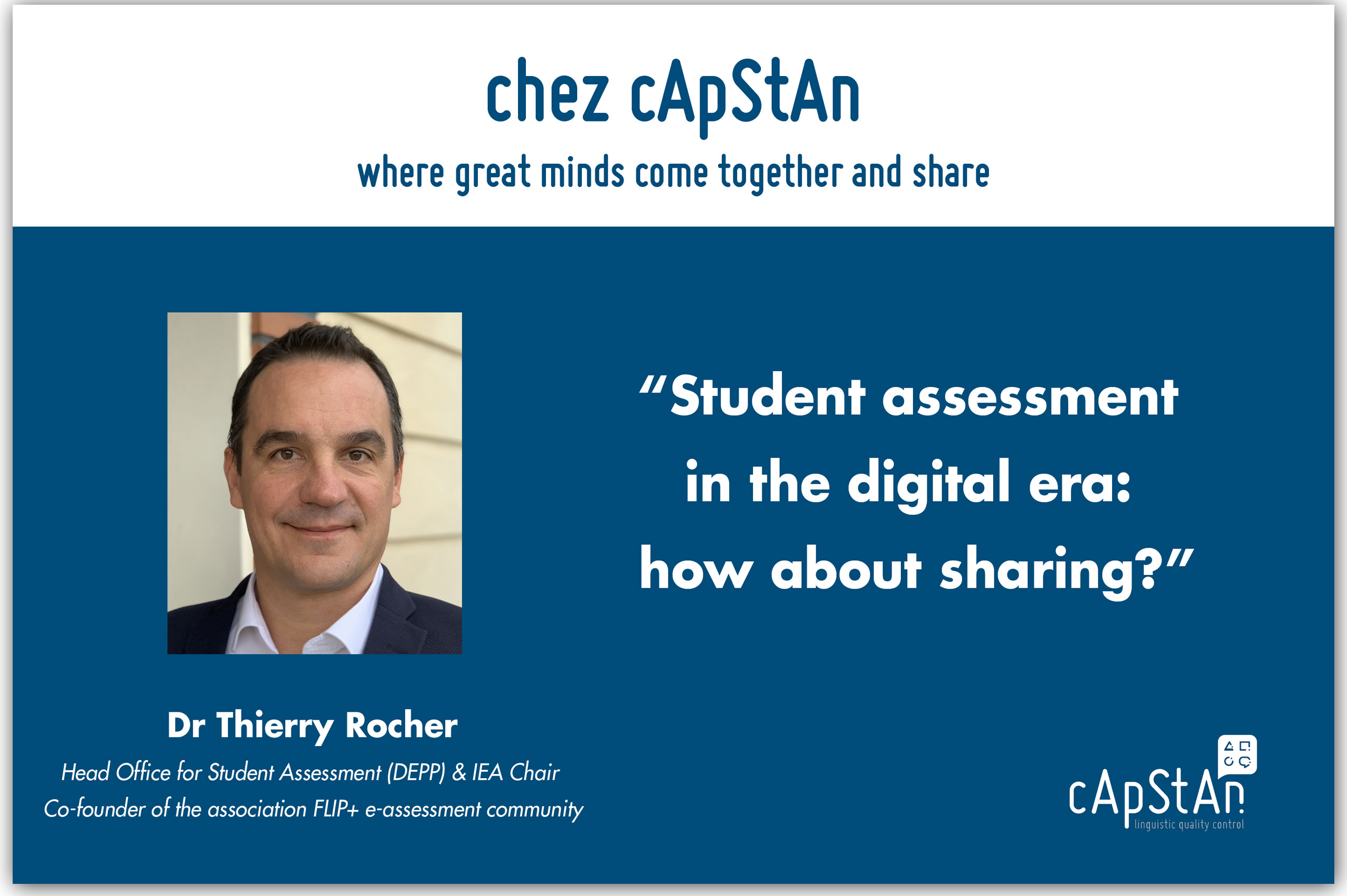 Student assessment in the digital era: how about sharing?