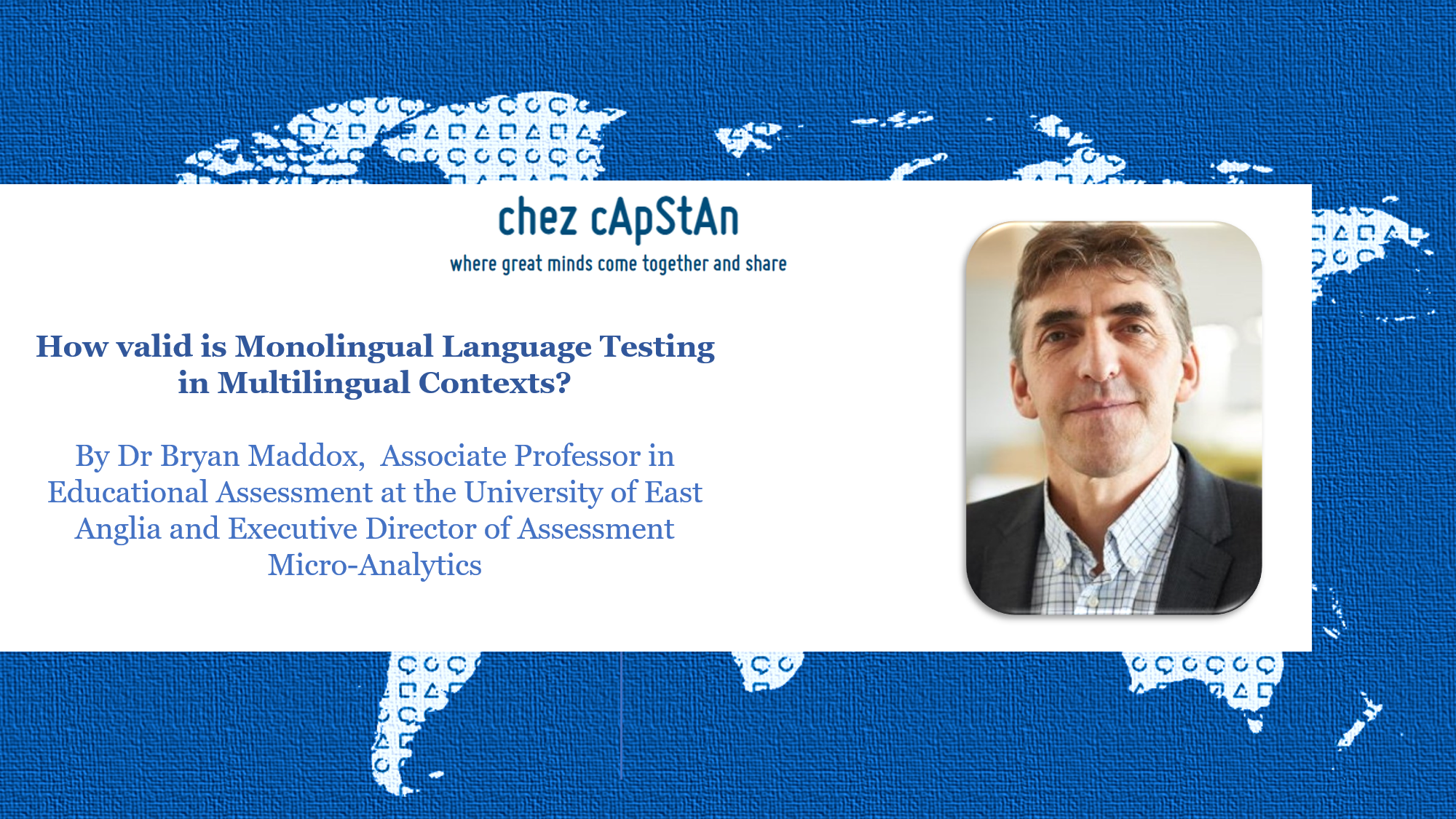 How valid is Monolingual Language Testing in Multilingual Contexts?