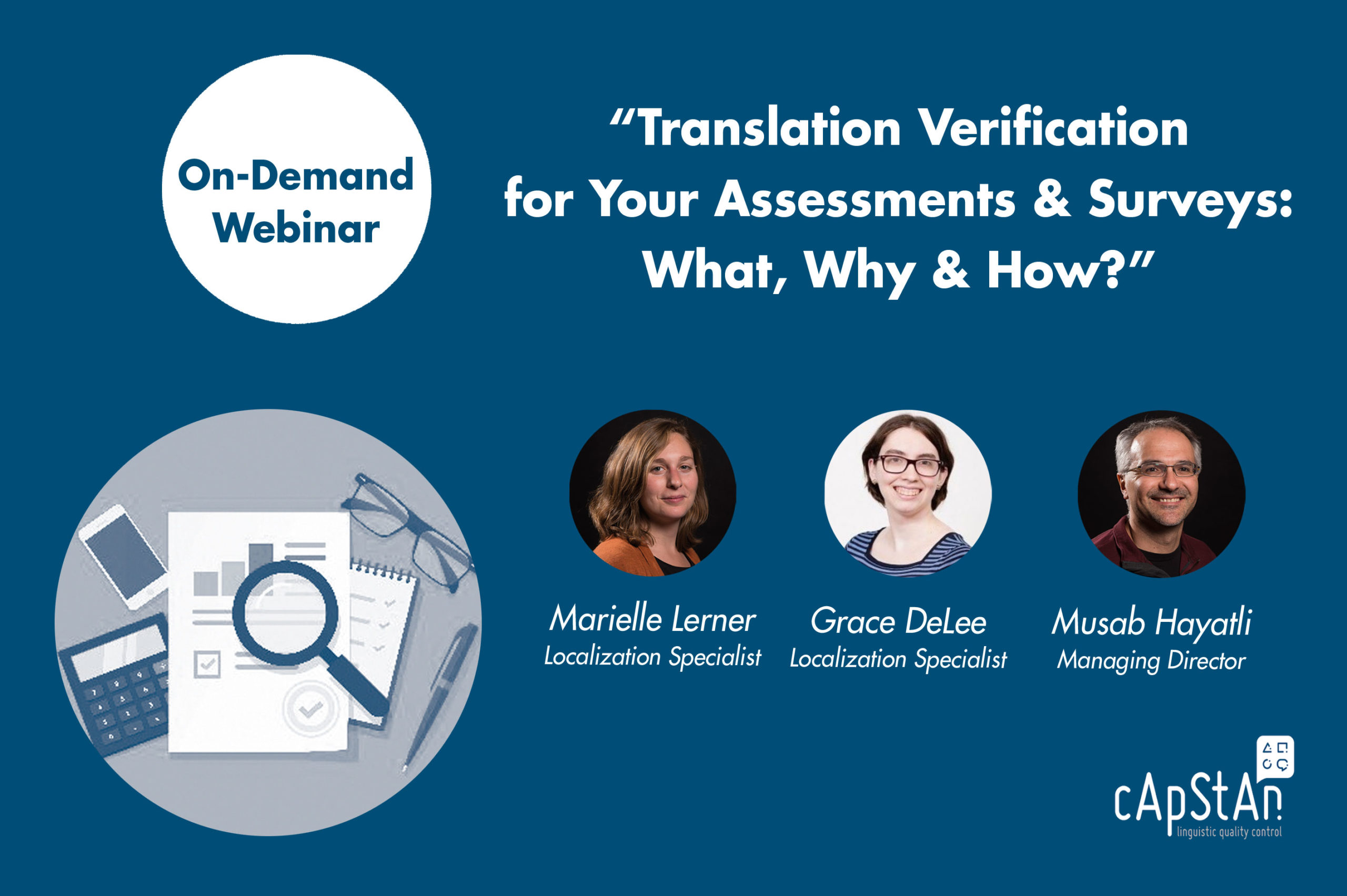On-Demand Webinar | Translation Verification for Your Assessments & Surveys: What, Why & How?