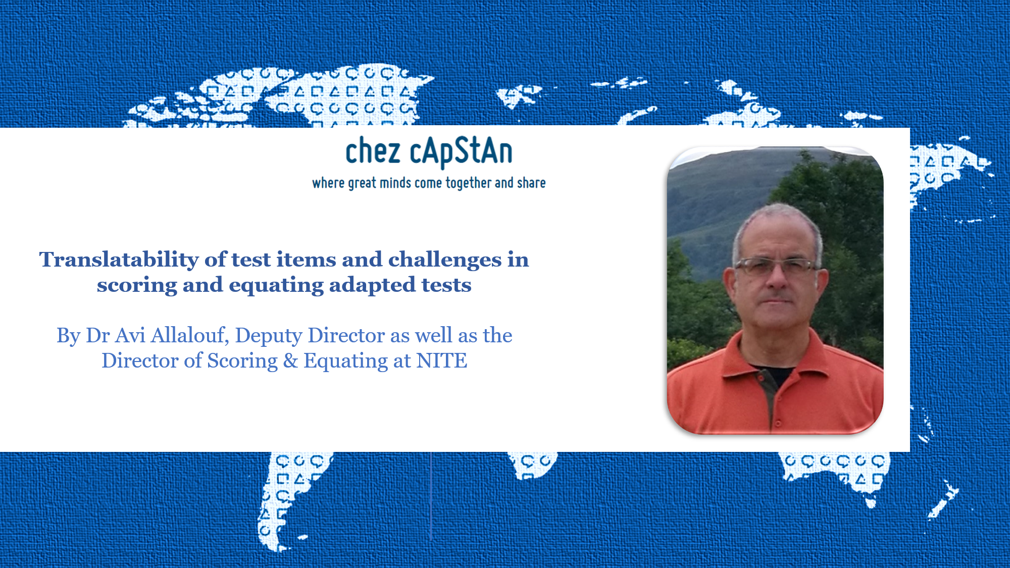 Translatability of test items and challenges in scoring and equating adapted tests