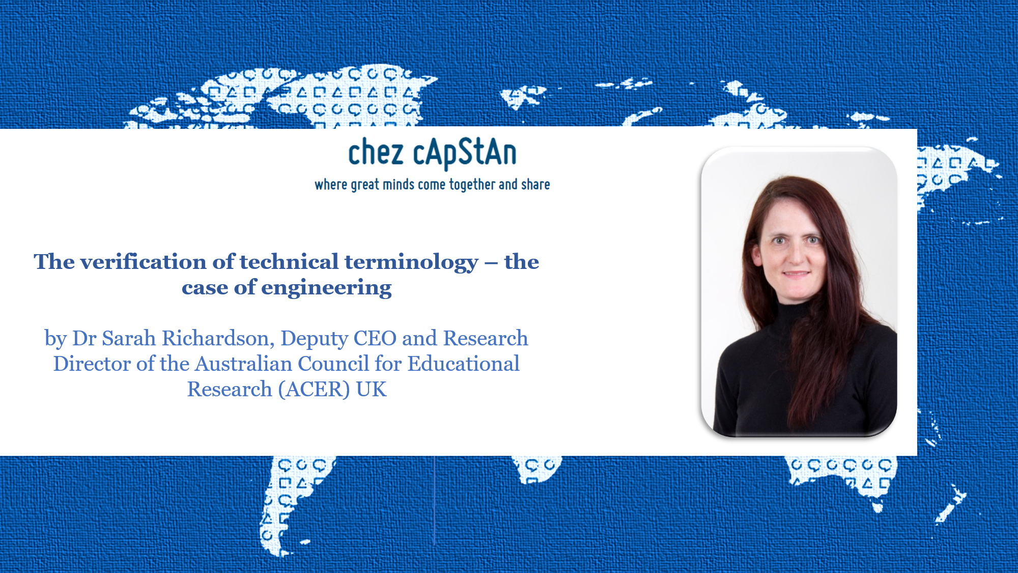 The verification of technical terminology – the case of engineering