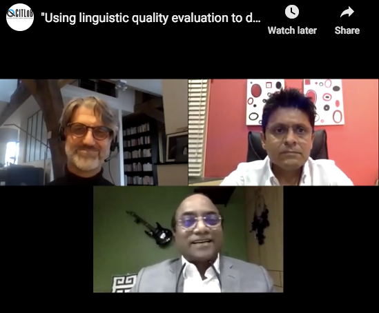 Using linguistic quality evaluation to drive revenue