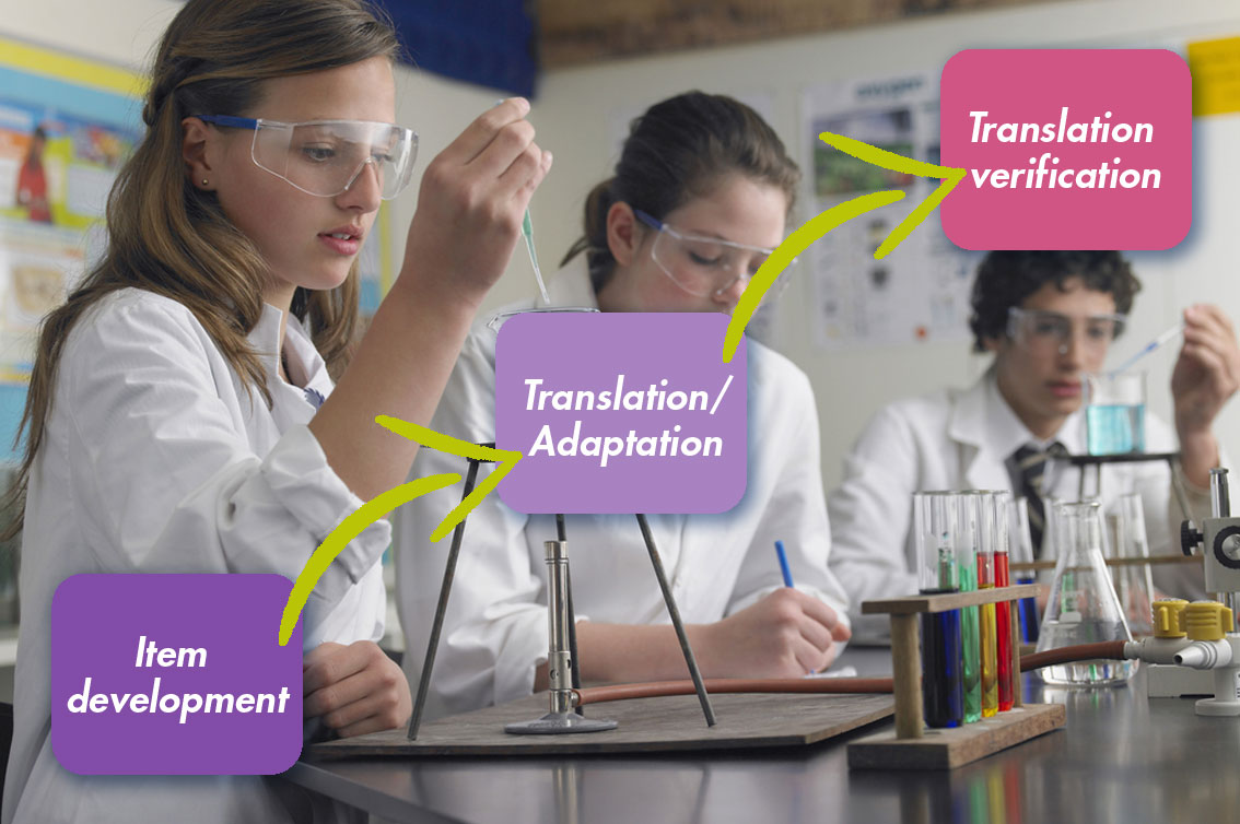 The translation and adaptation journey of a TIMMS grade 8 science item
