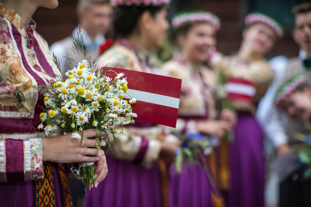 Dainas, four-line Latvian poems created over 1,000 years ago, are getting a new major English translation