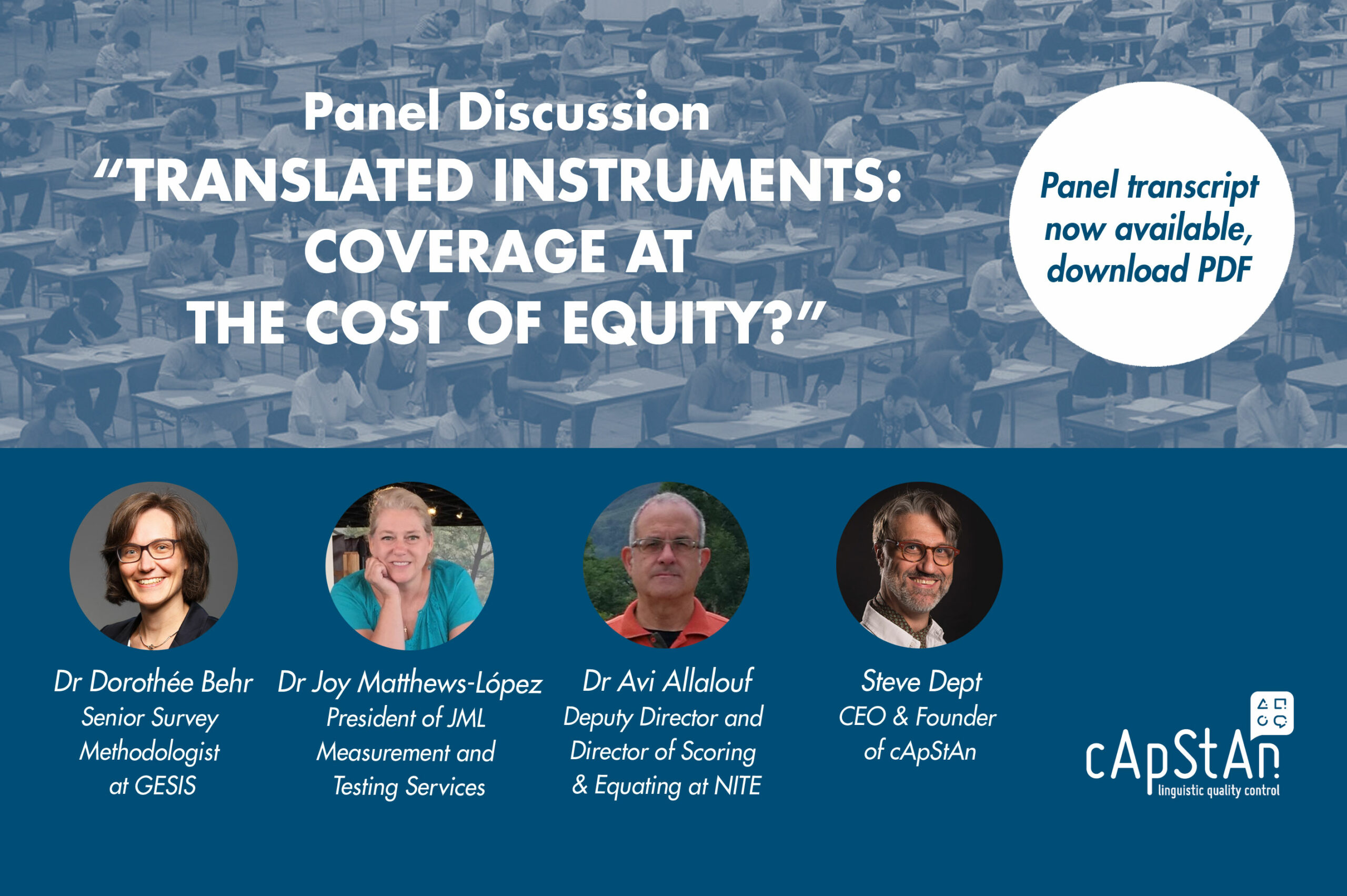 Detailed Transcript: Translated Instruments: Coverage at the cost of Equity?